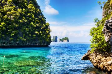 Pnorama at Ko Phi Phi Lee island - Thailand