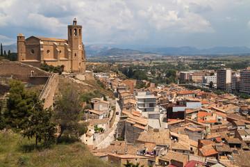 Santa Maria Church and the City of Balaguer