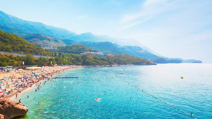 Beautiful landscape Beach in Kamenovo, Montenegro
