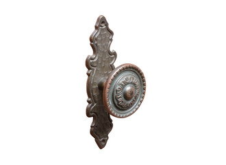 metal handle for furniture isolated