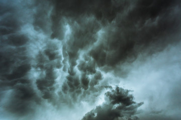 Background image of storm clouds