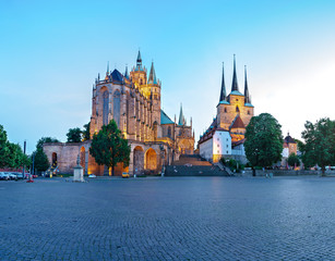 The Erfurt Cathedral