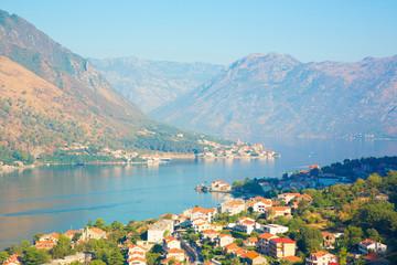 Boka Kotorska bay. Montenegro