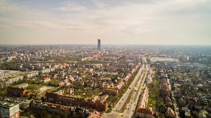 Wrocław panorama miasta