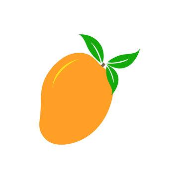 Mango icon leaf