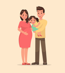 family character vector design set 7