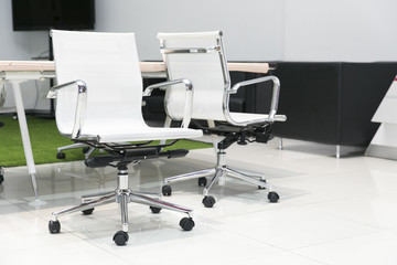 office chair in meeting room
