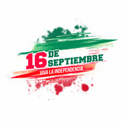 Independence Day of Mexico Background.