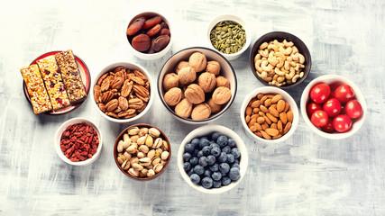 Healthy snacks Fototapete