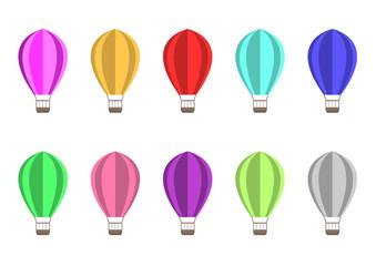 Air balloons illustration
