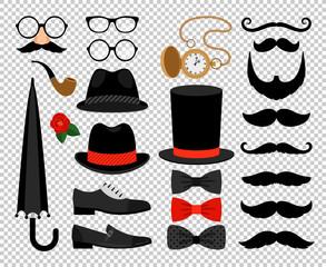 Gentleman vintage accessories