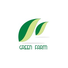 leaf green farm logo