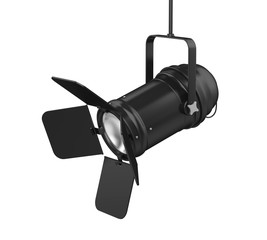 Stage Light Isolated