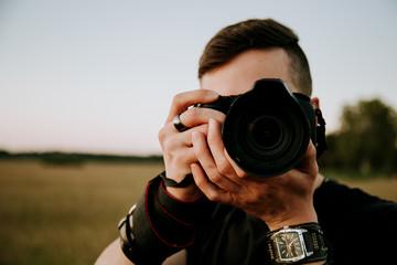 Fotograf der dich fotografiert