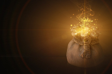 magic pot of fulfillment of desires Fototapete