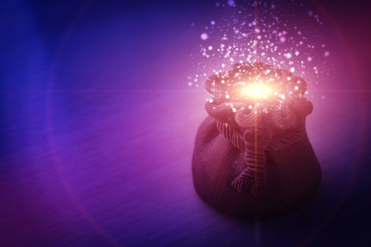magic pot of fulfillment of desires