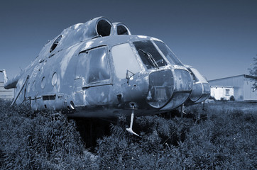 Ukrainian helicopters - a vanishing biological species