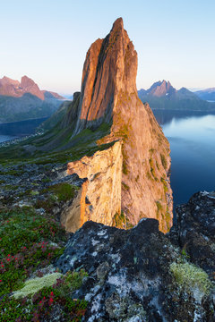 Segla Peak on Senja in Troms, Norway