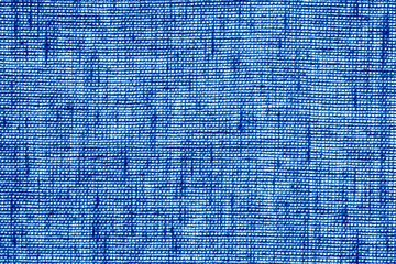 Cotton fabric texture in navy blue color.