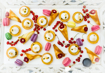 Delicious french pastry