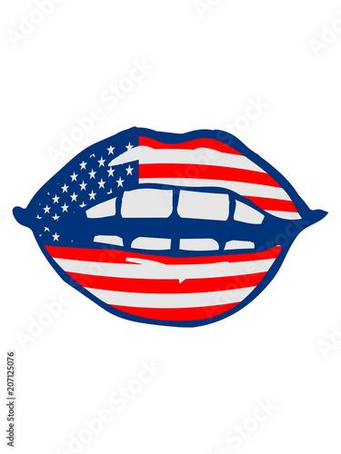 Lippen Weiblich Mund Sexy Heiß Hübsch Erotisch Symbol Usa Vereinigte