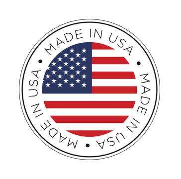 Made in USA flag icon.