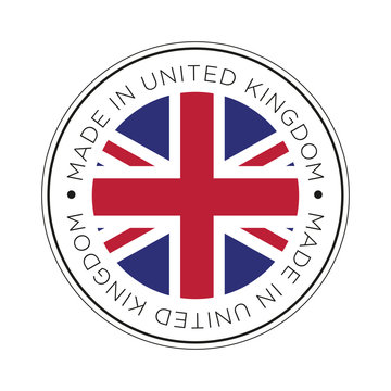 Made in United Kingdom flag icon.