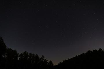 阿智村の夜空