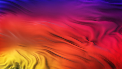 Colorful Smooth Gradient Wave  Background Wallpaper