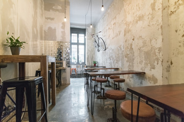 Germany, Berlin, Berlin-Kreuzberg, vegan restaurant