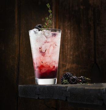Blackberry thyme gin