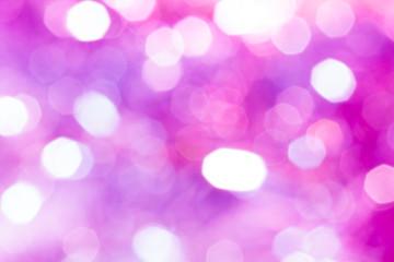 キラキラなボケ背景 白ピンク紫