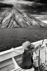 Stromboli seen from the sea 2
