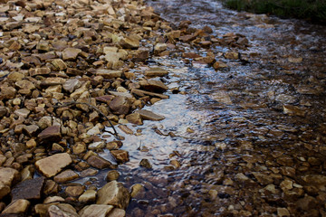 Stones from the river bottom - Brazil