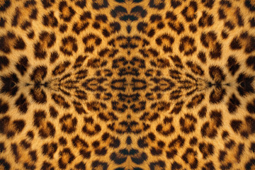Tiger skin pattern background.