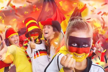 Fans Deutschland Fussball