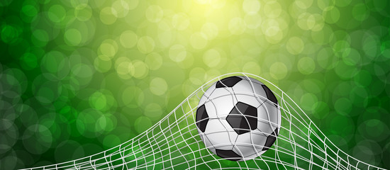 Soccer Ball in a Grid