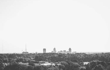 skyline of downtown raleigh
