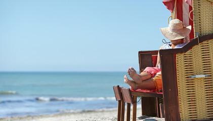 entspannter und erholsamer Strandtag