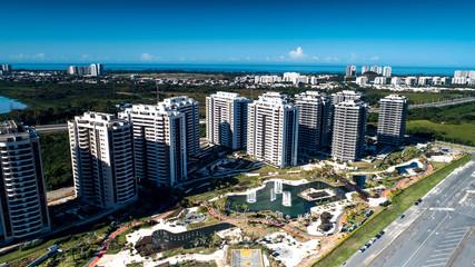 Condomínio de prédios no litoral RJ