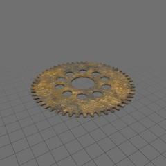 Dirty clock gear 3