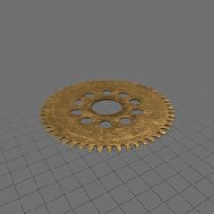 Clock gear 4