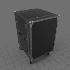 Closed stage flight case