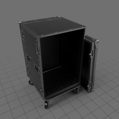 Open stage flight case