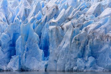 Keuken foto achterwand Gletsjers Ice field of the Grey Glacier