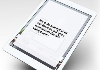 Diseño elegante de ebook