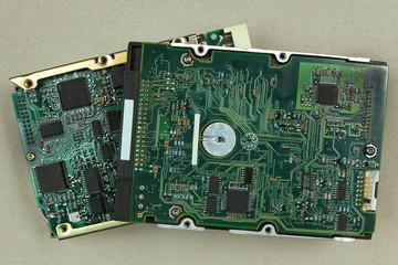 Hard drive circuit boards