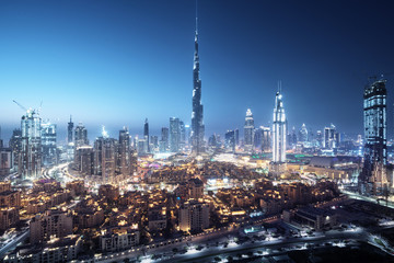 Fotomurales - Dubai skyline, United Arab Emirates