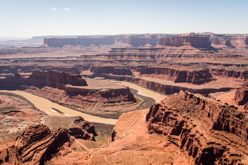 Dead Horse Point in Canyonlands National Park, Utah.