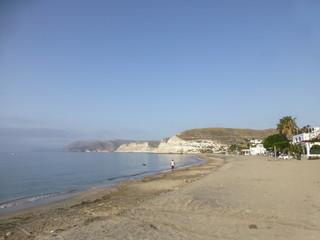 Agua Amarga, localidad en el Cabo de Gata municipio de Níjar, en la provincia de Almería (Andalucia,España)